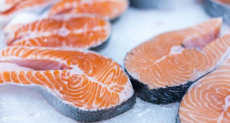 Beneficios del pescado congelado